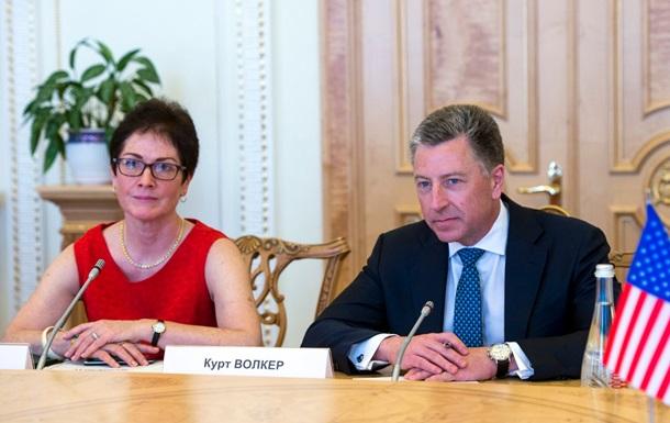 Нардепи обговорили з Волкером деокупацію Донбасу
