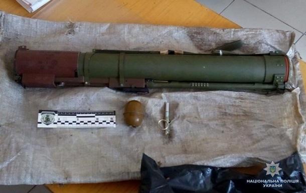 У Луганській області чоловік продавав гранатомет за $ 100