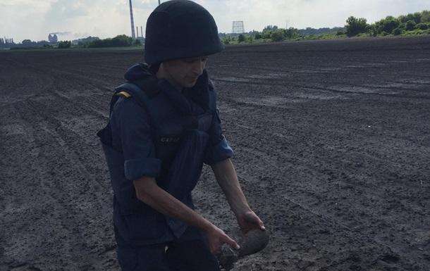 У полі під Черкасами знайшли снаряд