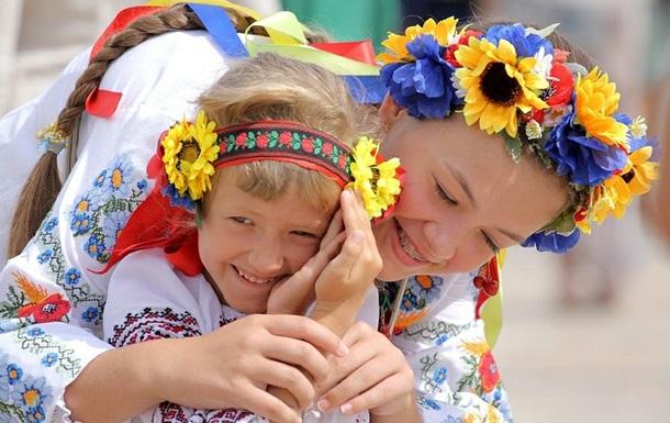 Как празднуют День вышиванки в Украине