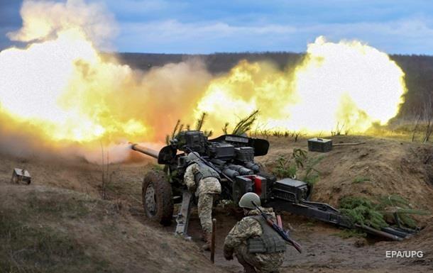 ООС: Украинская армия применила крупный калибр