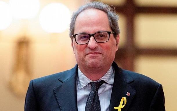 Новий глава Каталонії відмовився присягати королю Іспанії