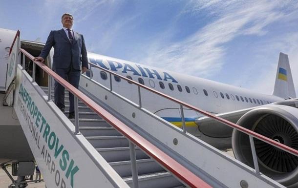 Дніпро має перетворитися на повітряний хаб - Порошенко