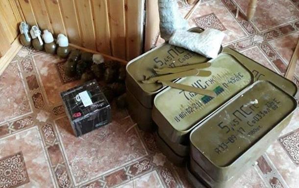 На Прикарпатье у бывшего прапорщика изъяли 22 гранатомета