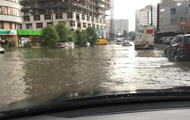 На вулицях Харкова утворилися  річки