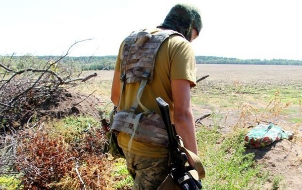 На Донбасі підірвався військовослужбовець - Міноборони