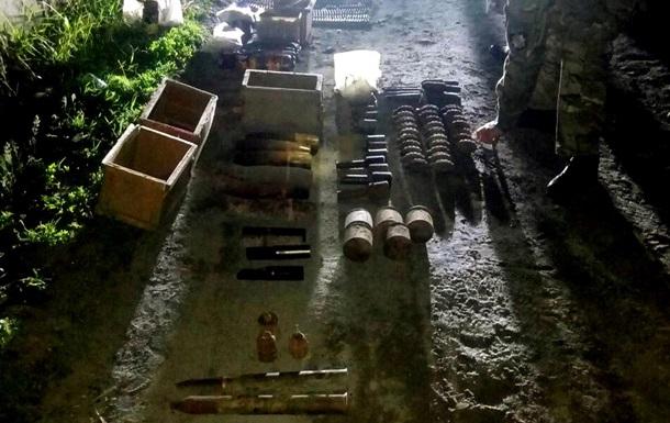 Под Харьковом обнаружили арсенал боеприпасов