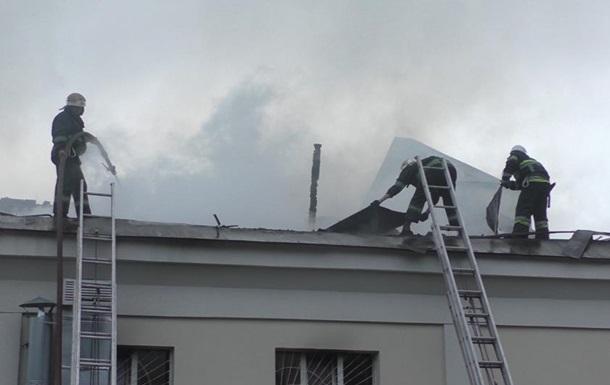 В Житомирской области произошел масштабный пожар