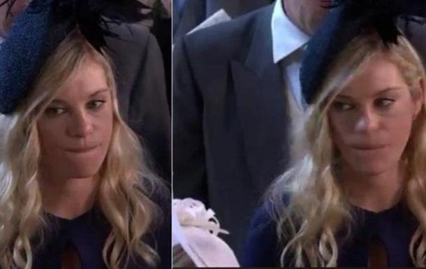 Бывшая девушка принца Гарри на свадьбе стала мемом