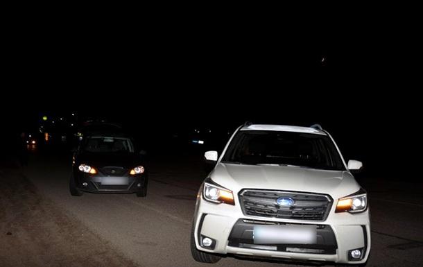 В Харькове водители устроили перестрелку на дороге