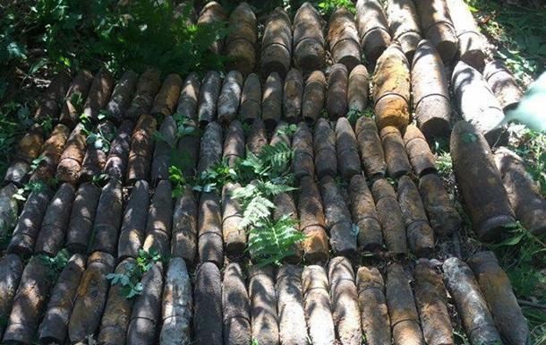 У Києві знайшли більше ста артилерійських снарядів часів Другої світової