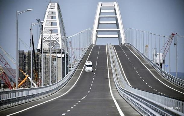 В РФ назвали самое частое нарушение ПДД на Керченском мосту
