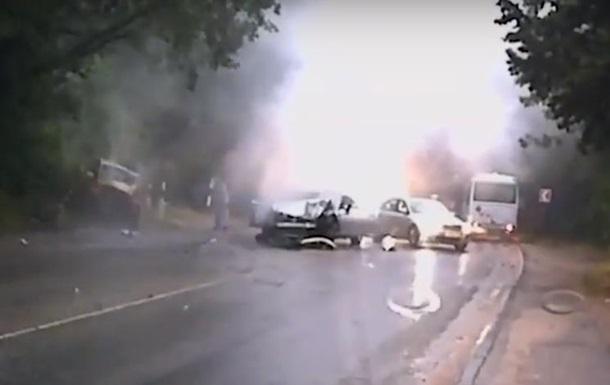 У Криму п яний поліцейський влаштував ДТП з двома загиблими