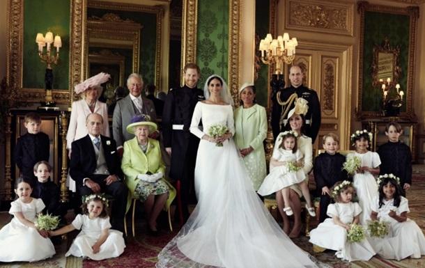 Появились официальные фото королевской свадьбы
