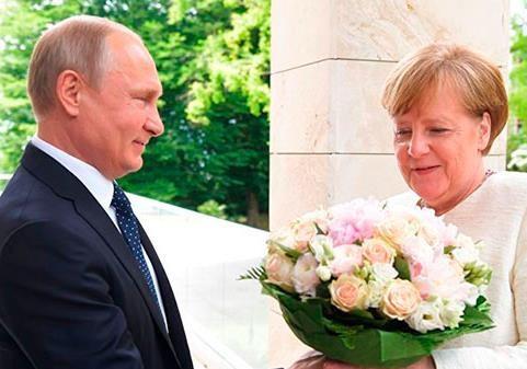 Меркель «сливает» Украину, у Путина всё пучком