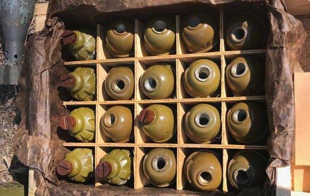 У Дніпрі знайшли майже 300 гранат