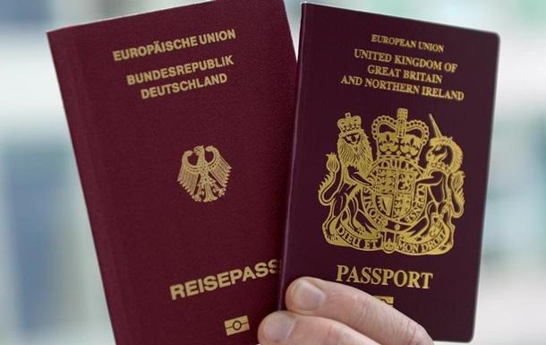 Рекордне число британців отримали громадянство ФРН 2017 року