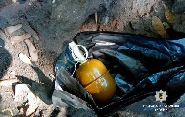 У центрі Харкові знайшли бойову гранату