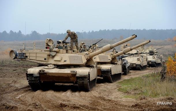 Армия США начала переброску техники в Европе