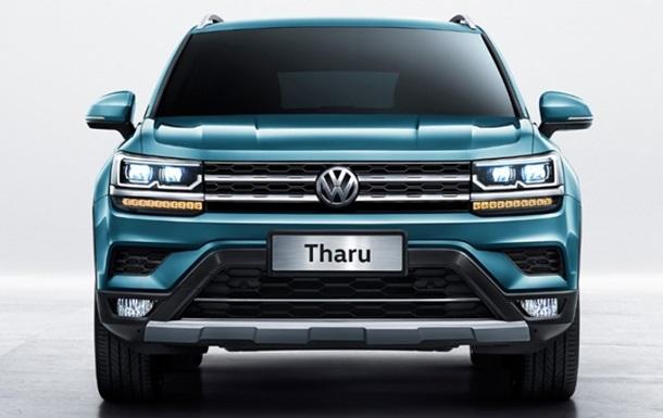 Volkswagen показав зовнішність кросовера Tharu