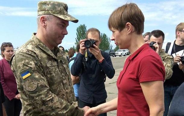 Командующий ООС встретился с президентом Эстонии