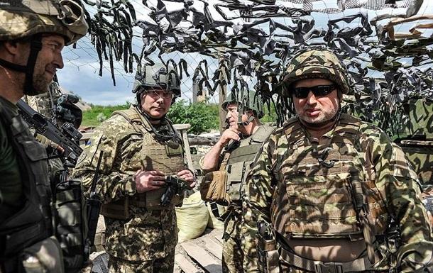 Турчинов заявил о рекордных обстрелах на Донбассе