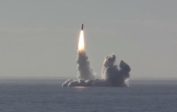 Міць 160  Хіросім : в США оцінили запуск російських ракет Булава