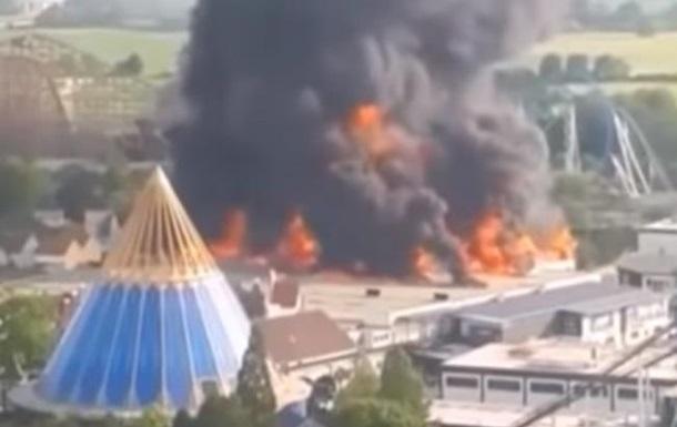 У найбільшому парку розваг Німеччини згорів атракціон