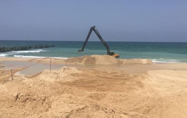 Ізраїль почав будувати морський бар