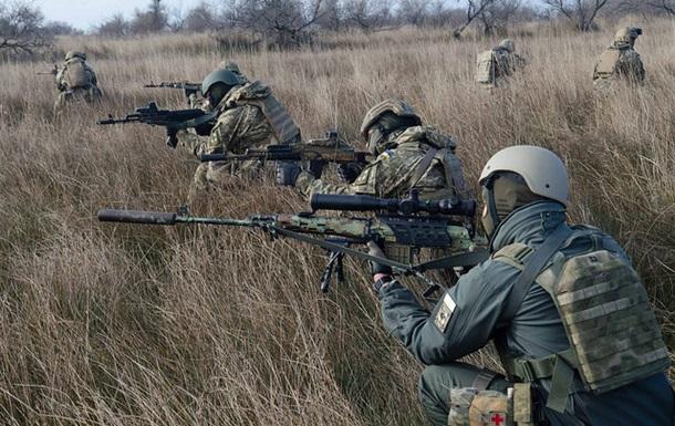 За минувшие  сутки 3 бойцов ВСУ были ранены