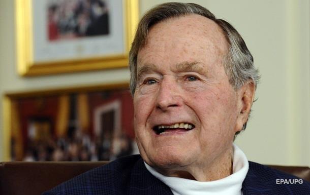 Джордж Буш-старший знову потрапив до лікарні