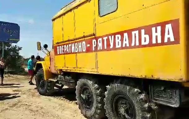 Шторм під Запоріжжям: ДСНС евакуює людей