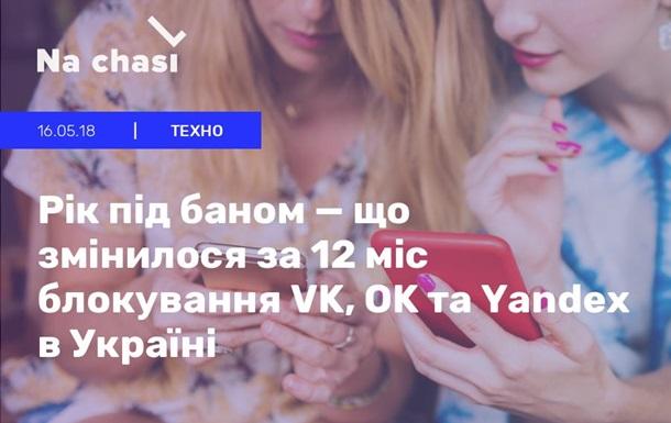 Санкції проти російських соцмереж і «Яндекса» - рік по тому.
