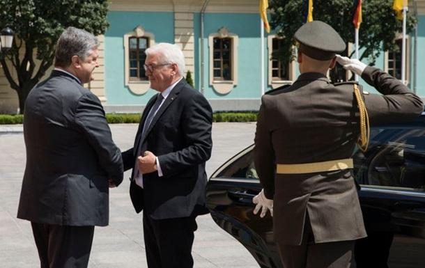 До Києва прибув президент Німеччини Штайнмаєр