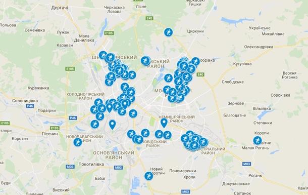 В Харькове создали карту рекламы наркотиков