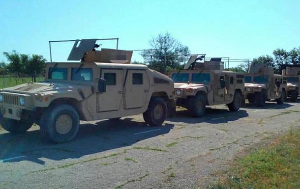 Пограничники на Донбассе испытали Humvee