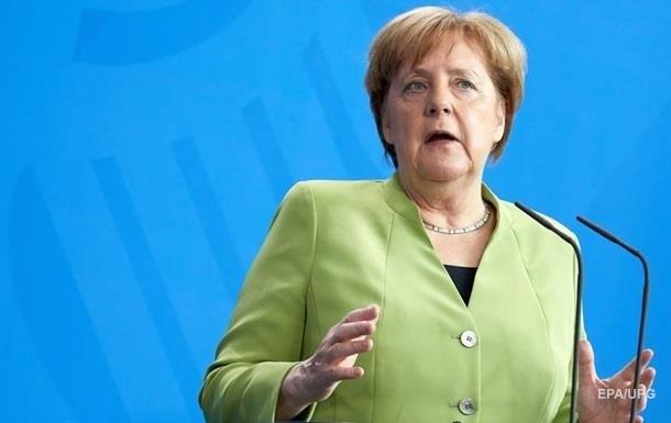 Меркель назвала єврозону найкращою гарантією миру в Європі