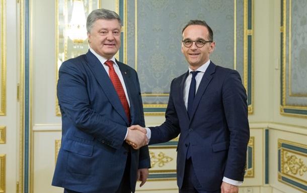 Порошенко обговорив з главою МЗС ФРН підготовку до саміту Україна-ЄС