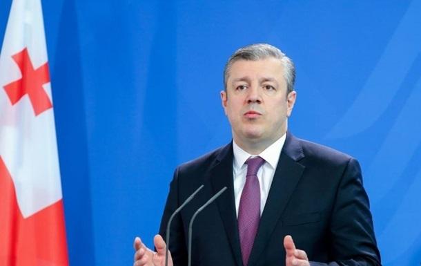 Премьер-министр Грузии отказался уходить в отставку