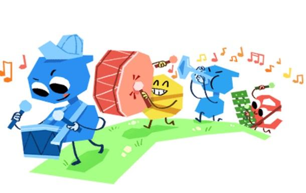 Google присвятив дудл Дню захисту дітей