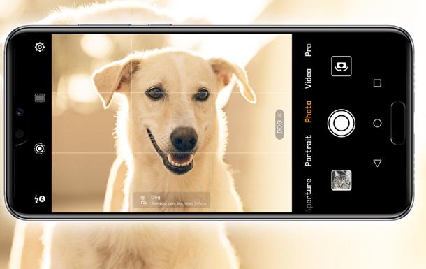 Как фотографирует искусственный интеллект Huawei P20 Pro