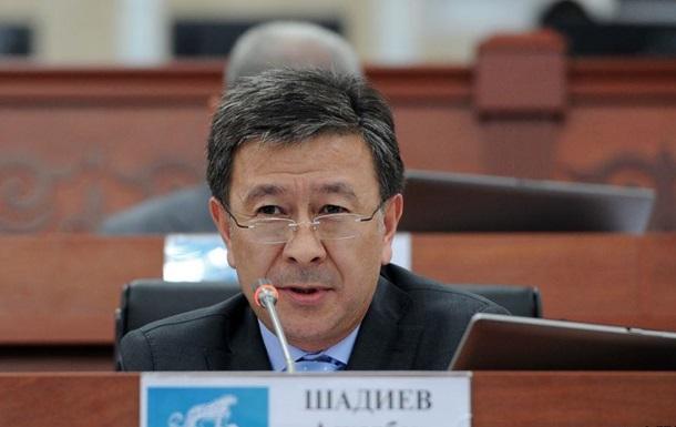 Екс-віце-прем єр Киргизстану втік з країни через брід