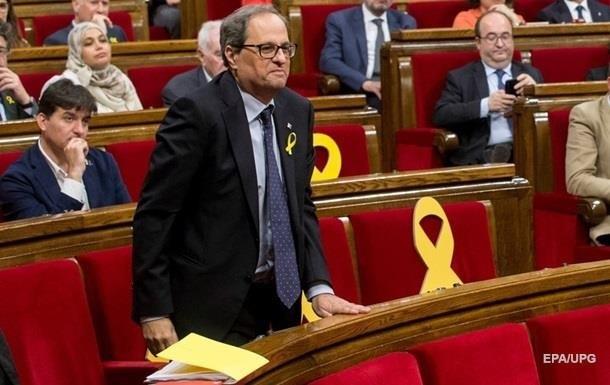 Іспанія затвердила новий уряд Каталонії