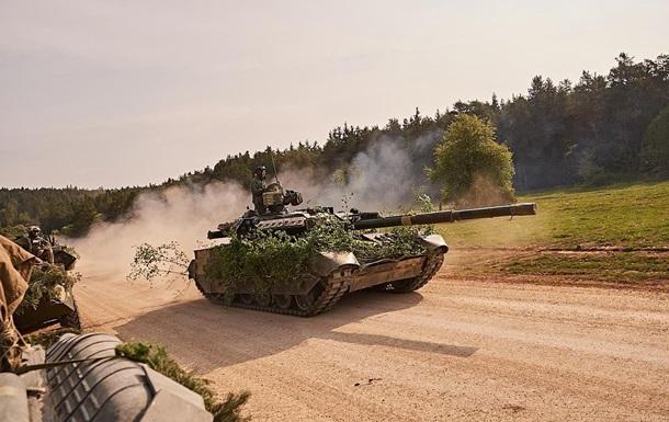 Украина отправила танки Т-84 на учения в Германию