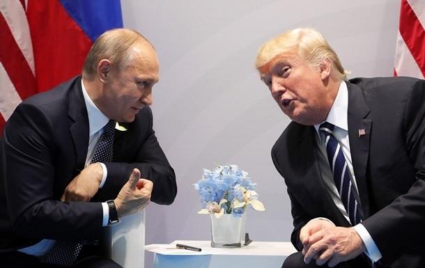 Белый дом готовит встречу Трампа и Путина − WSJ
