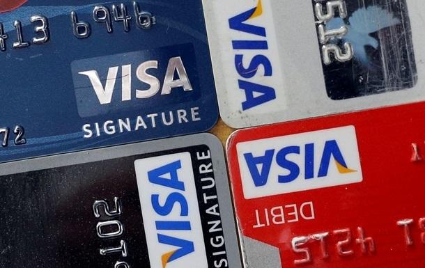 У Європі стався збій платіжних карт Visa