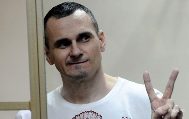 В центре Киева проходит акция в поддержку Сенцова