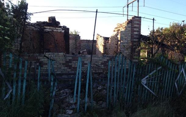 На Донбассе обстреляли поселок Южное