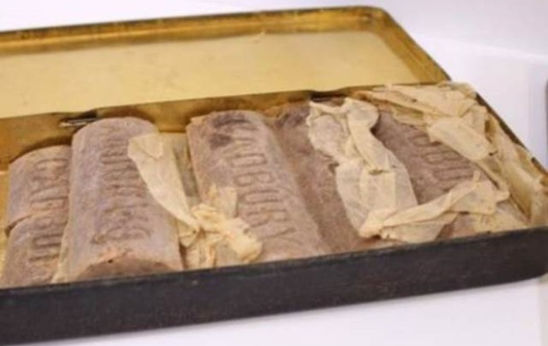 На аукционе в Британии продадут 100-летний шоколад