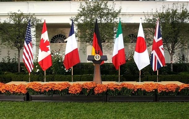 Шість країн G7 стурбовані новими митами США